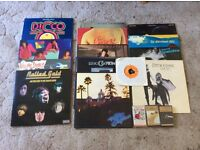 Job lot of records and cassettes
