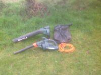 Blacker & Decker 123 Master Vac leaf blower / Collector