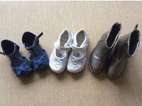 Clarks, Mothercare, M&S shoe bundle. Girls size 8F