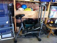 Schwinn evolution pro exercise bike.