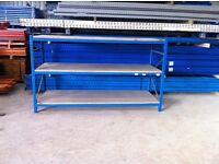 PLANNED STORAGE SYSTEM HEAVY DUTY COMMERCIAL WAREHOUSE RACKING SHELVING BAY UNIT