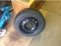 Ford Fiesta wheel and tyre 175-65-14