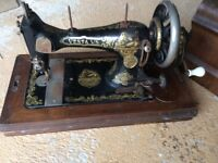 Vesta sewing machine for restoring project