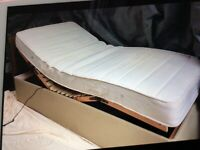 Electric motion single bed
