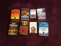 Selection of James Patterson books