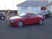 2002 Audi TT Quarttro ++++225bhp +++++ 6 speed ++++ nice looking car ++++