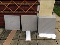 Floor tiles - porcelanosa - 60 x 60 cm large format