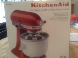 Brand New Kitchen Aid Ice Cream Maker