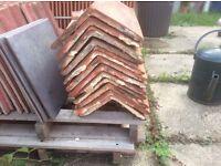 Relcaimed Clay ridge/hip tiles
