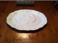 porcelain turkey platter