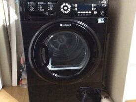 Hot point condensor dryer in black