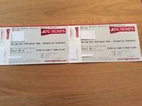 2 Dan and Phil tickets Milton Keynes 30th April at 19.30pm