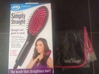 New Hair Straightening Brush JML