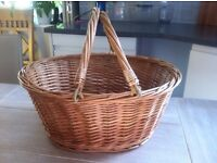 Retro Wicker shopping basket's use for photo props £10 each