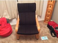 IKEA Black Poang Chair