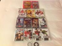HUGE JOB LOT: 90+ CD's -inc. limited edition & multiple PSP/XBOX Games & Book of Cool