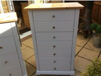 Stunning Solid Pine Chest of Drawers