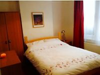 Double room available IP1 in friendly home Suit proffessional