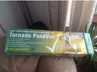 A brand new pond vacuum cleaner for sale
