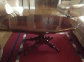 Mahogany Coffee table (excellent condition)