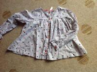 O'Kaidi girls cupcake blouse age 8 years