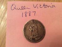 Queen Victoria Silver Coin 1887.
