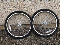Toddler Bike trailer wheels