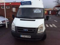 Ford transit T lwb hi top rwd new m o t , £3195 no vat.