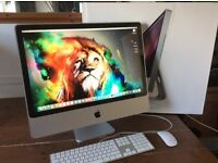 """24"""" iMac/ 2.4GHz/ 4 Gig Ram/ 120 Gig Solid State Drive/ Boxed Like New"""