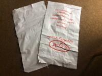 White large rubble sacks new