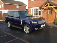 2007 RANGE ROVER VOGUE 3.6 TDV8,WITH A 2012 AUTOBIOGRAPHY FACELIFT CONVERSION BODYKIT.