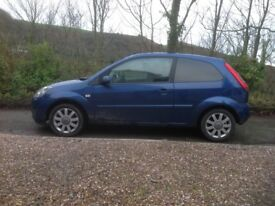 Reliable little ford fiesta with diesel engine.