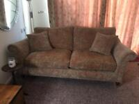 Parker Knoll 3 seat sofa with matching armchair