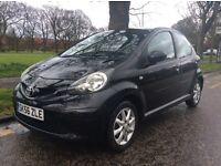 '56, *TOYOTA AYGO* 1.0 VVTI* 5DR HATCHBACK*ALLOYS* F/S/H* M.O.T* JUST SERVICED* STUNNING CAR
