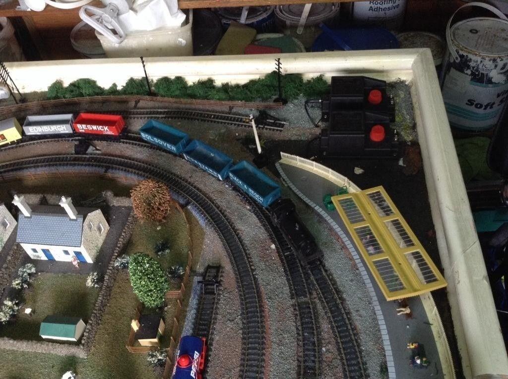Model Railway Layout Oo Gauge Model Train Layout Board Set