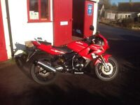 2012 Lexo Moto XTR 125 Four Stroke Motorcycle in Red