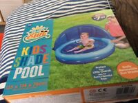 Kids shade pool never used still in box