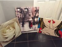 Selection of 3 pictures. £15 for all 3.
