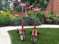 Radio flyer retro vintage style scooter