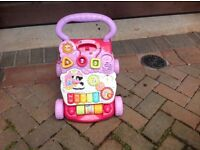 Vtech baby walker with musical activity £10 can deliver if local call 07812980350