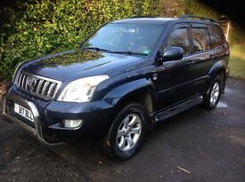 Toyota Landcruiser D4D 3.0 exceptional condition, full service history