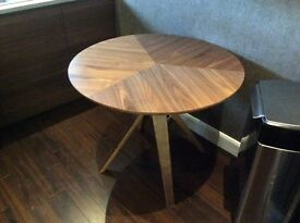 Dining Table John Lewis Radar Wood Contemporary 90cm Diameter