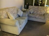 Comfortable Matching Two seater Sofa's