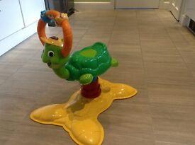 Bouncing turtle