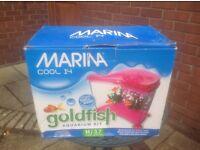 Aquarium for gold fish- safe simple & fun
