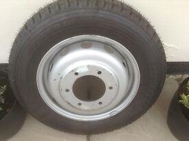Brand New Tyre &Rim. 185/75R16C