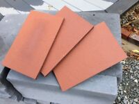 Quany Of New Red Clay Creasing Tiles 265 X 165 12mm At 1 For