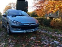 PEUGEOT 206 1.4 petrol *FULL MOT * £400 * cheap car