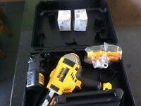 New DeWalt Cordless nail gun.