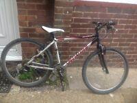 Mans Specialized Hardrock Mountain Bike 24 Speed